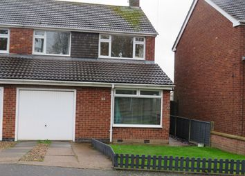 Thumbnail Semi-detached house for sale in Hinckley Road, Sapcote, Leicester