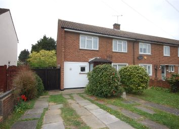 Thumbnail 3 bed end terrace house for sale in Basildon Drive, Laindon, Essex