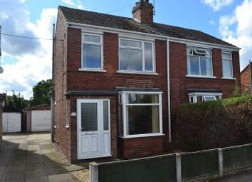 Thumbnail 2 bed semi-detached house to rent in St. Johns Road, Scunthorpe
