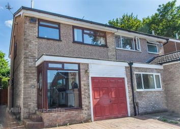 Thumbnail 3 bedroom semi-detached house for sale in Meriden Grove, Lostock, Bolton, Lancashire