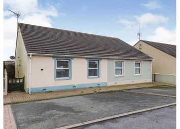 Thumbnail 2 bed semi-detached bungalow for sale in Connaught Place, Pembroke Dock
