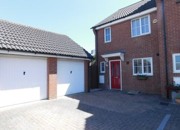 Thumbnail 3 bed end terrace house for sale in St. Johns Road, Arlesey, Beds