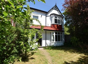 Thumbnail 3 bed detached house for sale in Scarisbrick Avenue, Didsbury, Manchester