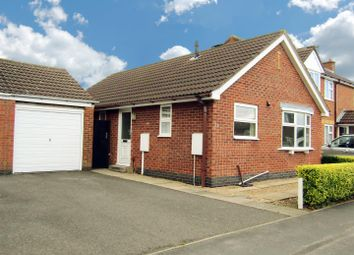 Thumbnail 2 bedroom detached bungalow for sale in Tyler Road, Ratby, Leicester