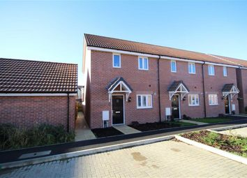 Thumbnail 2 bedroom end terrace house for sale in Holloway Close, St Andrews Ridge, Swindon