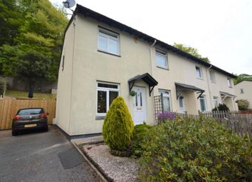Thumbnail 2 bed end terrace house to rent in Wordsworth Close, Chelston, Torquay, Devon