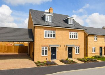 """Thumbnail 4 bed semi-detached house for sale in """"Queensville"""" at Carters Lane, Kiln Farm, Milton Keynes"""