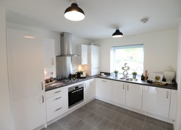 Thumbnail 2 bed semi-detached house for sale in Off Lakeside Boulevard, Cannock, Staffordshire
