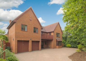 Thumbnail 5 bed detached house for sale in Livesey Hill, Shenley Lodge, Milton Keynes