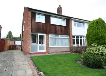 Thumbnail 3 bed semi-detached house for sale in Radnormere Drive, Cheadle Hulme, Cheshire