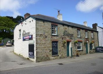 Thumbnail Pub/bar for sale in The Railway Inn, 10 Vicarage Road, St Agnes