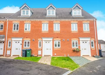Thumbnail 3 bedroom town house for sale in Sannders Crescent, Tipton