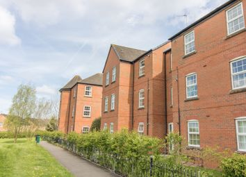 Thumbnail 2 bed flat for sale in Lock Keeper Close, Wigston