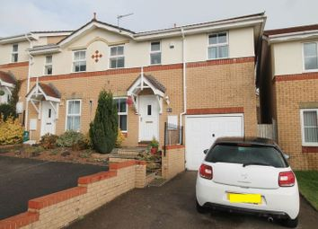Thumbnail 3 bed end terrace house to rent in Acorn Grove, Church Village