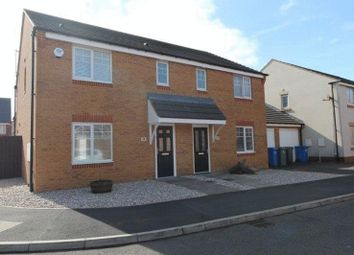 Thumbnail 3 bed semi-detached house for sale in Talisman Way, Blyth