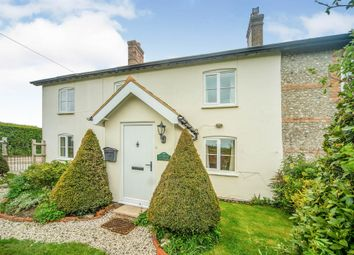 Thumbnail 4 bed end terrace house for sale in Dunbury Lane, Winterborne Stickland, Blandford Forum