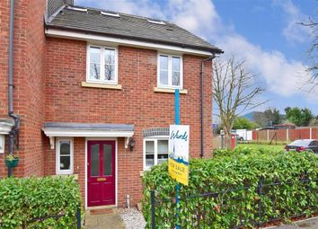 Thumbnail 4 bed end terrace house for sale in New Hythe Lane, Larkfield, Kent