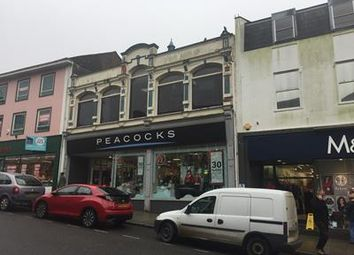 Thumbnail Commercial property for sale in 69, Fore Street, Redruth, Cornwall