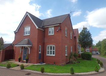 Thumbnail 4 bed detached house for sale in Delamere Close, Weston, Crewe, Cheshire