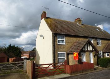 Thumbnail 2 bed end terrace house to rent in Sandwich Road, Eythorne, Dover