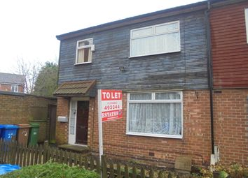 Thumbnail 3 bed terraced house to rent in Oaktree Estate, Preston, Hull