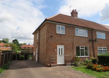 Thumbnail 3 bed end terrace house for sale in Stone Riggs, Stockton On The Forest, York