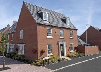 Thumbnail 4 bed detached house for sale in The Hertford At Lightfoot Meadows, Preston