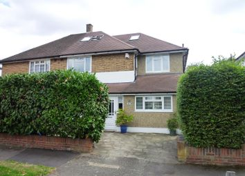Thumbnail 6 bed semi-detached house for sale in Timbercroft, Ewell, Epsom