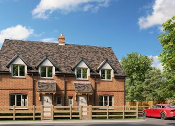 Thumbnail 3 bed semi-detached house for sale in Newbury Road, Chilton, Didcot