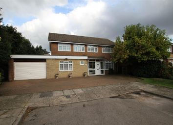 Thumbnail 4 bed detached house for sale in Field End, Arkley, Barnet