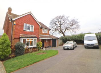 Thumbnail 4 bed detached house for sale in Helvellyn Drive, Eastbourne, East Sussex
