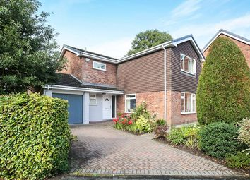 Thumbnail 4 bed detached house for sale in Longmeadow, Weaverham, Northwich
