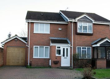 Thumbnail 3 bed semi-detached house to rent in Brentford Close, Hayes