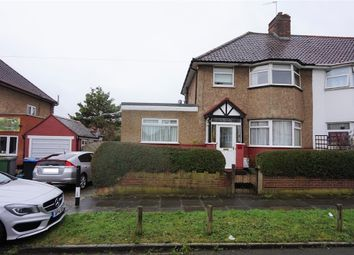 Thumbnail 4 bed semi-detached house for sale in Wembley Way, Wembley, Middlesex