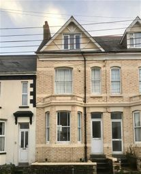 Thumbnail 1 bed flat to rent in Clovelly Road, Bideford, Devon