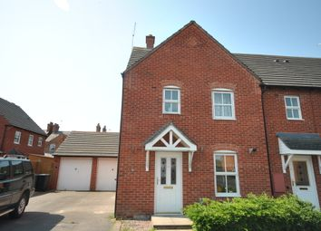 Thumbnail 3 bed end terrace house to rent in Gambrell Avenue, Whitchurch, Shropshire