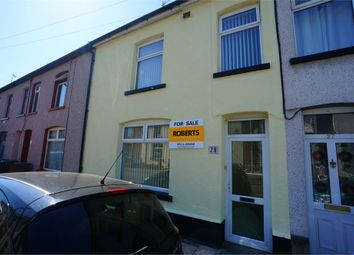 Thumbnail 3 bed terraced house for sale in Trafalgar Street, Risca, Newport, Caerphilly