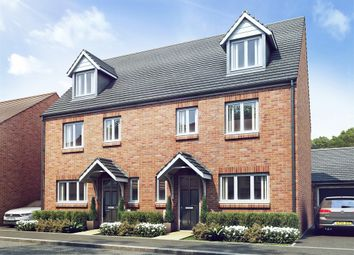 "Thumbnail 4 bed semi-detached house for sale in ""The Leicester"" at Little Heath Industrial Estate, Old Church Road, Coventry"