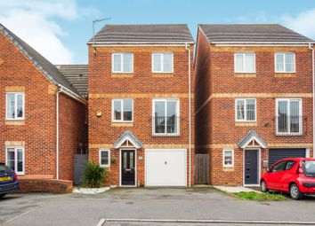 Thumbnail 4 bed detached house for sale in Hobson Drive, Spondon, Derby