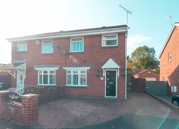 Thumbnail 3 bed semi-detached house for sale in The Strand, Sunderland