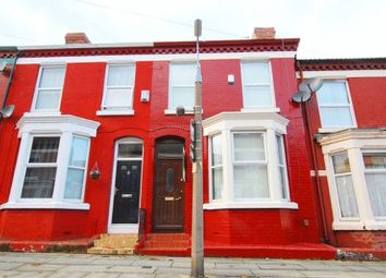 Thumbnail 4 bed terraced house for sale in Rosslyn Street, Aigburth, Liverpool