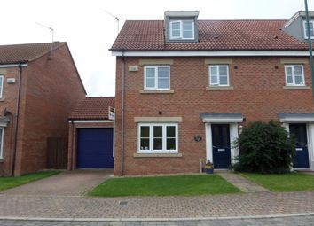 Thumbnail 4 bed semi-detached house to rent in Comets Garth, Darlington