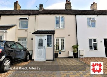 Thumbnail 2 bedroom terraced house for sale in Hospital Road, Arlesey, Beds