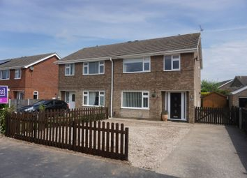 Thumbnail 3 bed semi-detached house for sale in Chestnut Drive, Louth