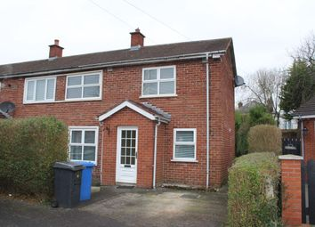 Thumbnail 2 bed semi-detached house to rent in Cloghan Park, Belfast