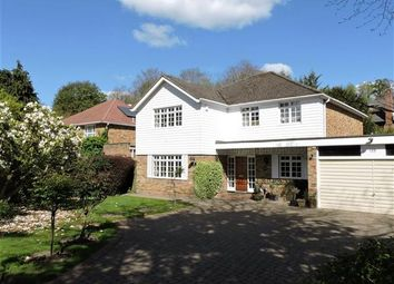 Thumbnail 4 bed detached house to rent in The Drive, Rickmansworth
