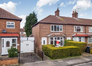 Thumbnail 2 bedroom end terrace house for sale in Georgina Road, Beeston, Nottingham
