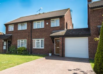 Thumbnail 3 bed semi-detached house for sale in Easington Drive, Lower Earley, Reading