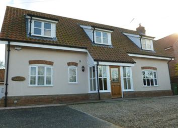 Thumbnail 4 bed detached house to rent in Poplar Lodge, Hockering Lane, Bawburgh, Norwich