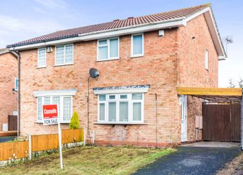 Thumbnail 2 bed semi-detached house for sale in Temple Way, Tividale, Oldbury